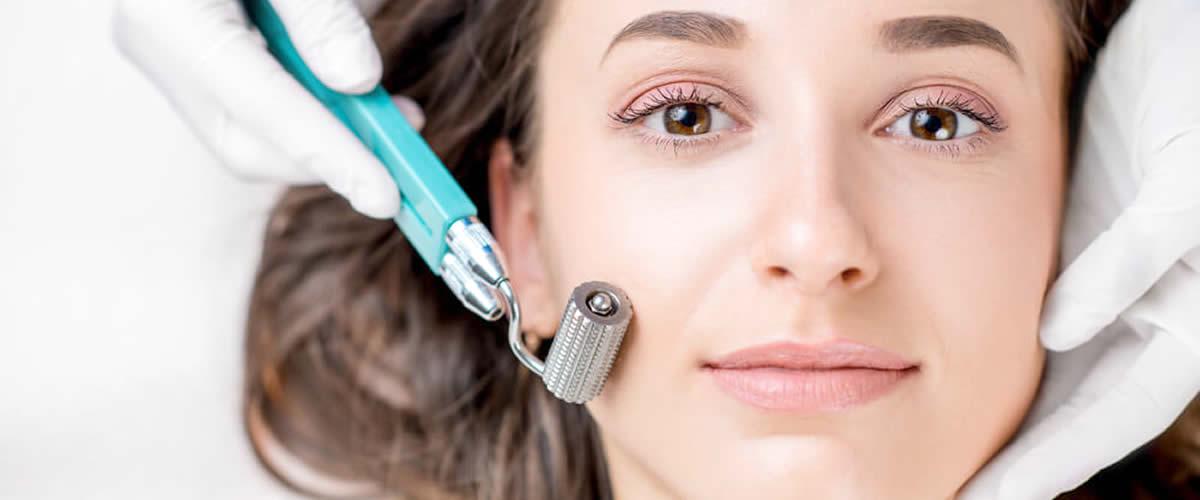 Microneedling effetto anti-età della pelle